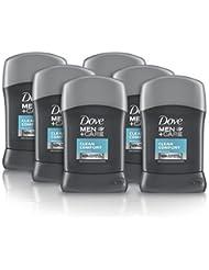 Dove Men Clean Comfort Anti-Perspirant Deodorant Stick, 50 ml, Pack of 6