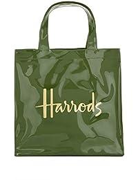 ea084c30d Harrods - Bolso de asas de pvc para mujer Verde Verde S