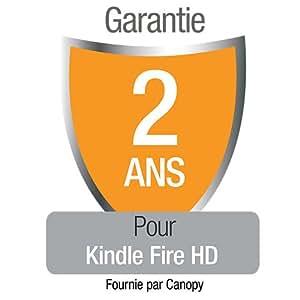 Garantie de 2 ans avec protection en cas d'accident et de vol pour le nouveau Kindle Fire HD , réservée à notre clientèle résidant en France métropolitaine