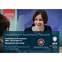 FIA Foundations in Management Accounting FMA (ACCA F2): Passcards