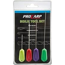 Cormoran PRO CARP Boilie Tool Komplett Set, 4 Stück Bohrer und Nadeln - unverzichtbar!