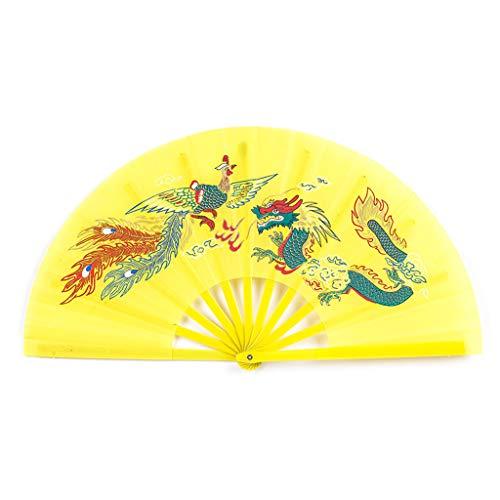 Kalttoy - Abanico chino Kung Fu Tai Chi artes marciales dragón fénix...