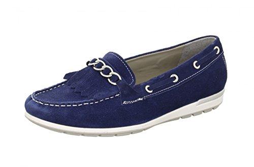 signore ara mocassino 12-30857-08 blu zaffiro Blu