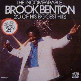The Incomparable Brook Benton: 20 Of His Biggest Hits [VINYL LP] [STEREO] (Benton Brooks)