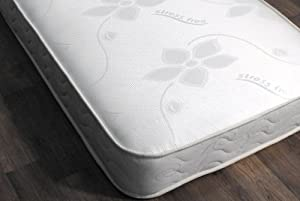 3ft 190 x 90 x 17 (CM) Budget Memory Foam Spring Mattress