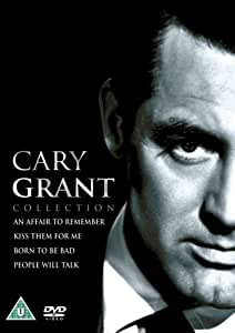 Cary Grant Collection: An Affair To Remember / Kiss Them For Me / People Will Talk / Born To Be Bad [DVD]