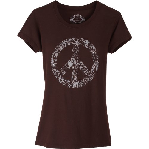 prAna Retro Frauen T-Shirt braun