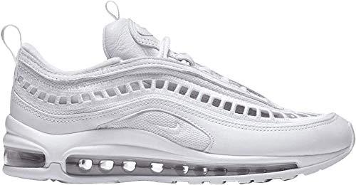 Nike Air Max 97 Ultra '17 LX - Scarpe da Donna, Bianco (Infradito Colorati Estivi, con finte Perline), 44.5 EU