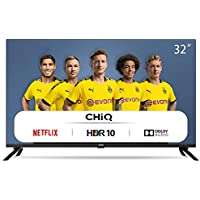 "CHiQ Televisor Smart TV LED 32"" HD, WiFi, Bluetooth, Netflix, Prime Video, Youtube, Facebook, HDMI ARC, USB, L32H7N"