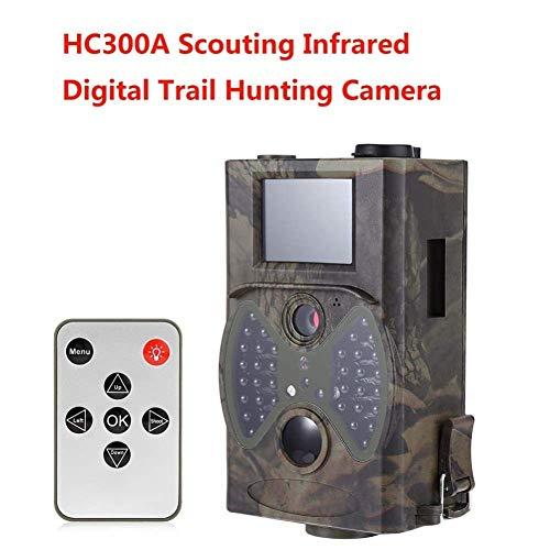 LQUIDE Jagdkamera , Spielkameras, HD 1080p 8MP Infrarot Digital HC300A Tag und Nacht Jagdkamera