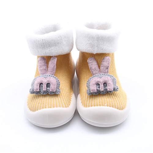XIAXIACP Baby Slipper Socken, Babyschuhe Socken, Rutschfeste Weiche Atmungsaktive Walking Slipper Socken Cute Cartoon Für Jungen Mädchen Hausschuhe Schuhe Socken,3,XL - Drei Walking-socken