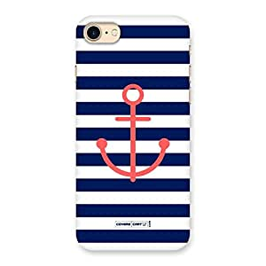 Anchor on Stripes Back Case Cover for iPhone 7