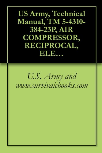 US Army, Technical Manual, TM 5-4310-384-23P, AIR COMPRESSOR, RECIPROCAL, ELECTRIC MOTOR DRIVEN, CASTER M 5 CFM, 175 PSI, (NSN 4310-01-242-1804), military manauals, special forces (English Edition) (Cfm-motor)