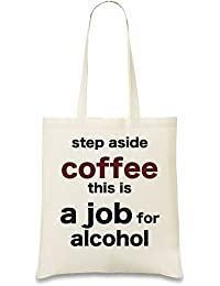 Step Aside Coffee Bolso de mano