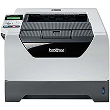 Brother HL-5380DN Monochrome Laserdrucker (Duplex, 2400 x 600 dpi, USB 2.0) grau/weiß (Zertifiziert und Generalüberholt)