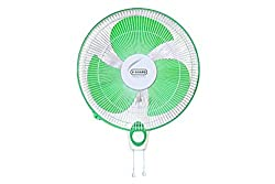 Vguard Finesta STD 400mm Wall Mounting Fan (Green White)