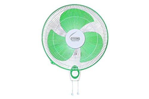 Vguard Finesta STD 400mm Wall Mounting Fan (Green White)