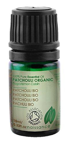 Naissance Olio di Patchouli Biologico - Olio Essenziale puro al 100% - Certificato Biologico - 10ml