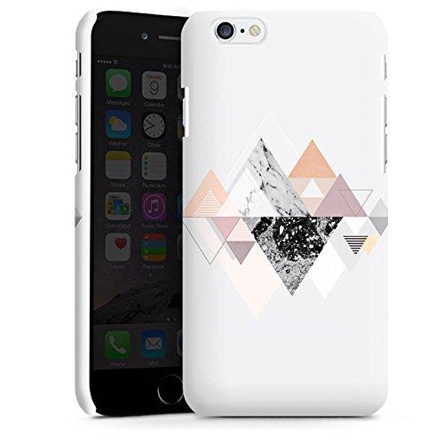 Apple iPhone X Silikon Hülle Case Schutzhülle Abstrakt Dreieck Art Premium Case matt