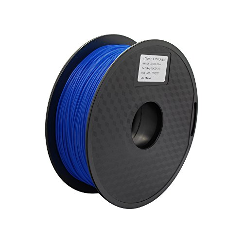 Anycubic 3D Printer PLA Filament für 3D Drucker - 1,75mm - 1kg Spule (Blau)