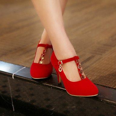 Talloni delle donne Primavera Autunno scarpe formali in similpelle per ufficio Outdoor & amp;Partito & amp Carriera;Abito da sera casuale tacco a spillo Bu US5.5 / EU36 / UK3.5 / CN35