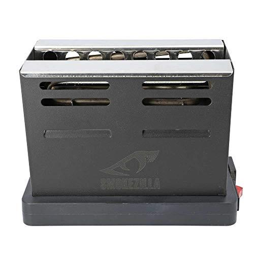 Smokezilla® Pyrostrom RIFT Shisha Kohleanzünder 800 Watt | Die Naturkohle Wird von viele Seiten angeheizt ! -