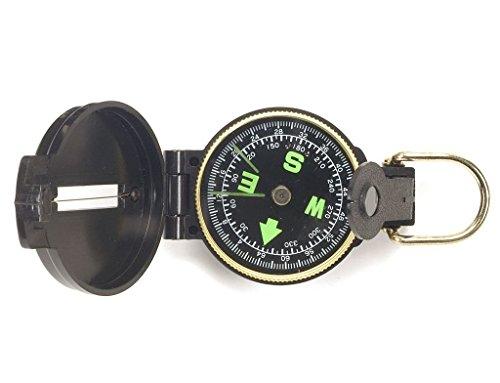 US Army Kompass Typ Scout flüssigkeitsgedämpft in Kunststoffgehäuse (Sucher Kostüm)