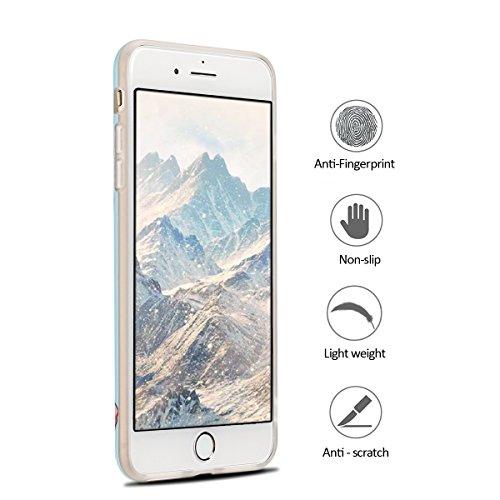 coque iphone 7 plus dessin rose