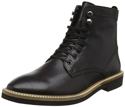 Frank Wright Munros, Stivaletti Uomo, Nero (Nero (Black Leather)), 42 EU
