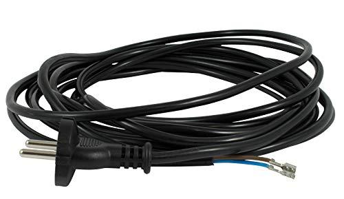 Netzkabel 6 m für Miele S5211 Staubsaugerkabel Staubsauger Kabel Ersatzkabel Saugerkabel Anschlusskabel Kabel