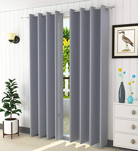check MRP of blackout curtains grey Fablicious