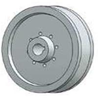 Speroni - Puleggia per albero motore - diam. 100 foro 28 - 1 gola tipo A