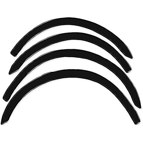 R.S.N. 997 nero lucido, parafanghi ruota archi , parafanghini passaruota nero lucido