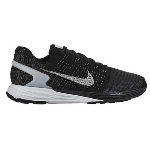 Nike Damen WMNS Lunarglide 7 Flash Laufschuhe, Black (Schwarz/SLVR-Pr RFLCT Pltnm-Drk Gr), 36 1/2 EU (Damen And Track Nike Field)