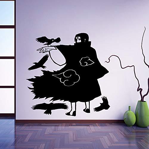 Nette Itachi Uchiha Dekoration Zubehör Für Kinderzimmer Wandtattoo Wohnkultur101 * 101 cm
