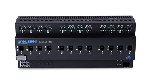 CoCoSo SwitchME12 KNX, 16 A / 12 Kanal Schaltaktor, 1 Stück, schwarz, 251