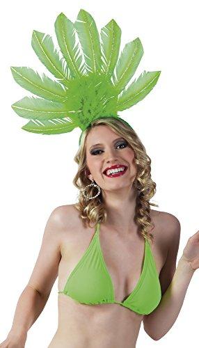 Männer Samba Für Kostüme (erdbeerloft - Brazilien Samba Kopfbedeckung Federn Kostüm,)
