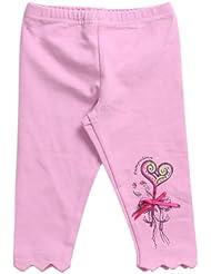 Pampolina Mädchen Leggings Rosa 98