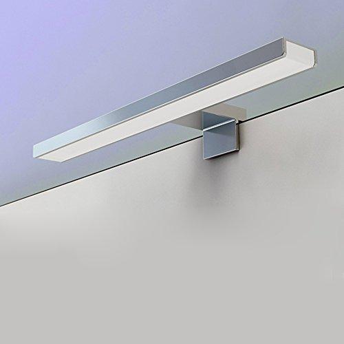 BAYTTER LED Spiegelleuchte Spiegellampe 5W aus Aluminum wasserdicht IP44 Badlampe Badleuchte warmweiß -