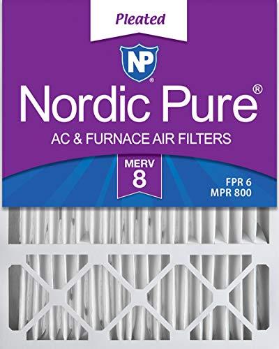 Nordic Pure Merv 8HONEYWELL Ersatz-Luftfilter, Box von 1
