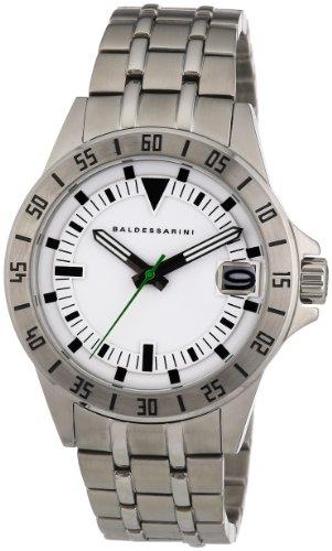 Baldessarini Herren-Armbanduhr XL DUB Analog Quarz Edelstahl Y8033W/20/00