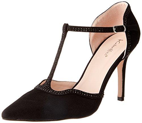 Coloriffics Damen Ellis, schwarz, 36.5 EU Coloriffics Low Heel Heels