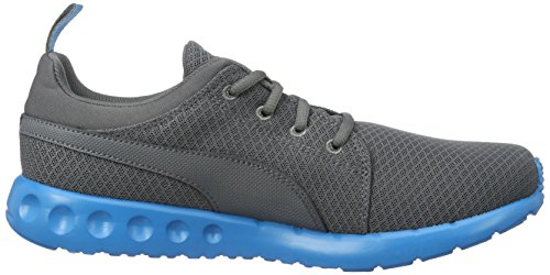 Puma Carson Mesh, Chaussures de Running Entrainement Homme Gris (Quiet Shade-blue Danube 07)
