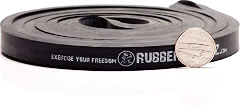 Rubberbanditz Physical Therapy Band. #3 Heavy/Black 30-50 lb (14-23 kg). - 41