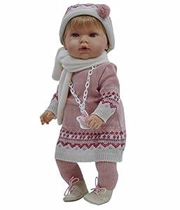 muñecas: Nines Artesanals d'Onil - Tita, muñeca bebé con chupete (1080)