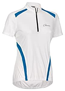 Gonso Damen Rad-trikot Monrovia, white (600),38, 44001