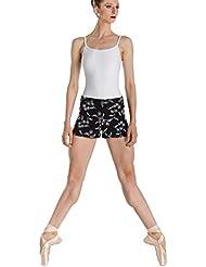 Wear Moi Elty pantalón corto para mujer, Mujer, color antracita, tamaño XS