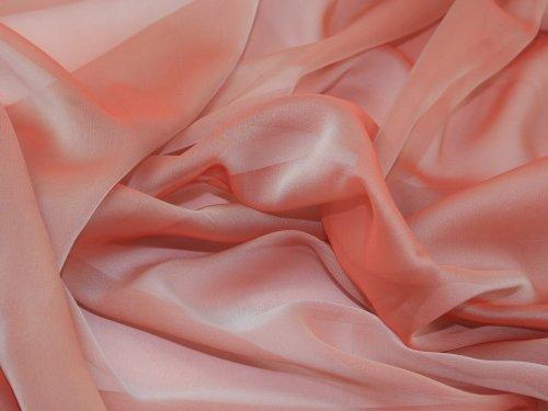 Chiffon Sheer Blush (147,3cm kationisch Chiffon Kleid Blush-Pro M)