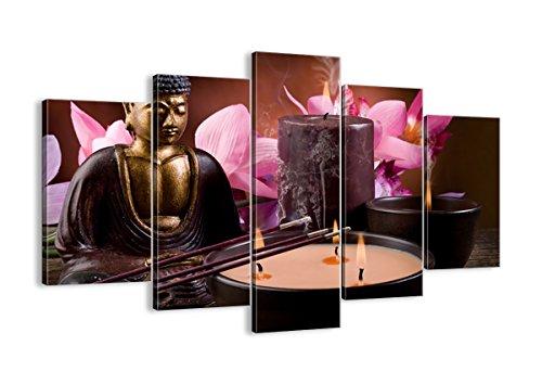 Cuadro sobre lienzo - 5 piezas - Impresión en lienzo - Ancho: 150cm, Altura: 100cm - Foto número 2631 - listo para colgar - en un marco - EA150x100-2631