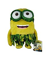 Peluche Minions Bob con gonna 25 cm Serie Hawaii PS 11784